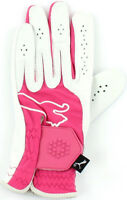 Puma Junior Golf Glove Pink LH Left Hand for Right Handed Golfers Girls Boys