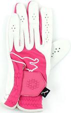 Puma Junior Golf Glove Pink LH Left Hand for Right Handed Golfers Girls Boys