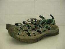 womens sz 8 M Keen Newport H2 Venice Whisper sandals waterproof gray nylon sport