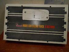 VINTAGE 1965 REVELL SLOT CAR STRAIGHT TRACK 2