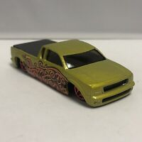 Hot Wheels Green Steel Flame Mystery 1:64 Scale Diecast Toy Car Model Mattel