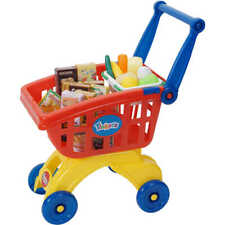 NEW Tinker Shopping Trolley Cart Playset 29 Grocery Pcs Christmas Birthday Gift