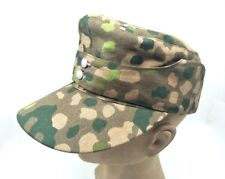 WWII WW2 GERMAN ARMY ELITE M43 DOT 44 HAT FIELD MILITARY CAMOUFLAGE CAP M