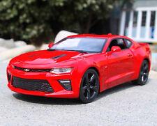 Maisto 1:18 2016 Chevrolet Camaro SS diecast metal model car new in box red