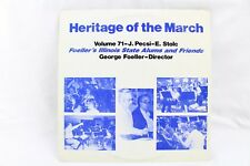 Heritage of the March Volume 71 George Foeller PDB-444-LP Vinyl Record
