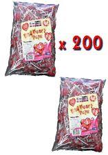 Red Heart Lollipops 200 Pcs 18g Pops Lollies Candy Buffet Wedding Hens Night
