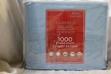 Fairffield Square Whitney 1000Tc King Sheet Set Luxury Sateen