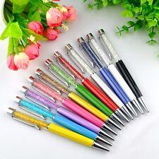 12pcs  Crystal Diamond Stylus Pen Ballpoint Pens Office School Stationery-Gift