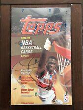 1998-99 Topps  Basketball Series 1 Factory Sealed 36 Pack Box Jordan Kobe PSA 10