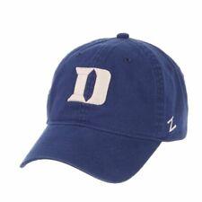 """Duke Blue Devils Zephyr Blue """"Scholarship"""" Adj. Strapback Relax Fit Hat Cap"""