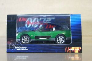 MINICHAMPS 045149 Jaguar Xkr Roadster James Bond Fundido Otro Día ND