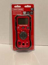 New In Package Craftsman Automotive Digital 600 Volt Multimeter Cmmt14171