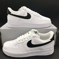 Nike Air Force 1 Retro '07 White Black Men's Size CT2302-100 NEW FREE SHIPPING
