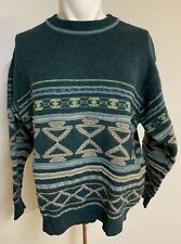 UNITED COLORS OF BENETTON Vintage Christmas Sweater. Men's . Large