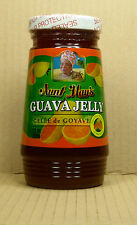 336gr./12oz. Guava Jelly/goyaves gelée de Aunt May de Barbade