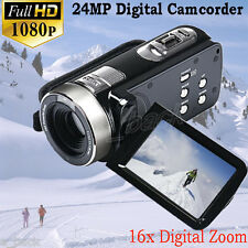 "3.0"" 16X Zoom LCD Full HD 1080P Digital Video Camera DV Camcorder HDMI TFT LCD"
