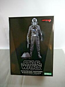 Star Wars Tie Fighter Pilot Backstabber & Mouse Droid 1:10 Kotobukiya Kak