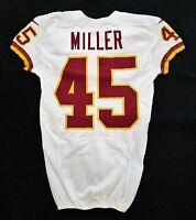 #45 Miller of Washington Redskins NFL Game Issued Jersey