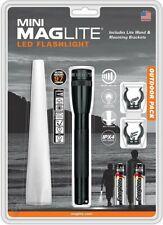 MAGLITE Mini LED Flashlight Outdoor Pack Bundle, 127 Lumens, Clam Pack #SP22TQG
