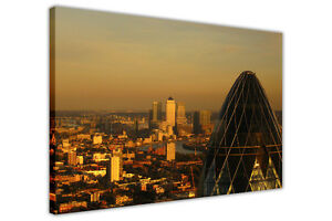 LONDON GHERKIN FRAMED PRINTS CANVAS PICTURES WALL ART HOME OFFICE CITY POSTERS