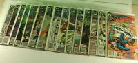 Lot of 15 DC Comics Superman & The Adventures of Superman 1988-1989 Comic Books