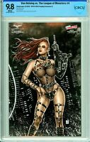 Van Helsing vs The League of Monsters #4 NYCC Cosplay Exclusive A - CBCS 9.8!
