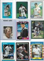 Kirk Gibson Tigers Lot of (12) Different w/ (2) 1981 Topps Rookies #315 & #78 EX