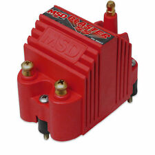 MSD 8207 Ignition Coil Street Blaster Core  Red 40000 V Fits Sbc Bbc Chevy Ford
