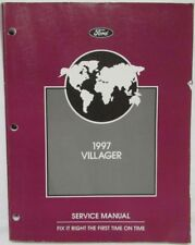 1997 Ford Motor Company Mercury Villager Service Shop Repair Manual