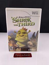 Shrek the Third (Nintendo Wii, 2007) Complete Cib