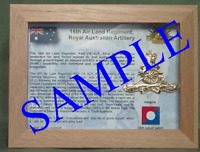 16th Air Land Regiment Royal Australian Artillery, (16 ALR RAA)