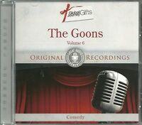 THE GOONS VOLUME 6 CD - ORIGINAL RECORDINGS