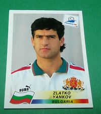 N°290 YANKOV BULGARIE BULGARIA PANINI FOOTBALL FRANCE 98 1998 COUPE MONDE WM
