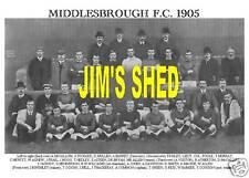 MIDDLESBROUGH F.C. TEAM PRINT 1905