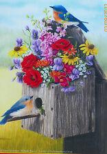 .PUZZLE.....JIGSAW.....GUTTORMSON......Bouquet For Bluebirds.....500pc..