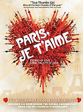 Paris, Je T'aime (DVD, 2007, 2-Disc Set, Limited Collector's Edition)