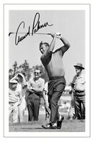 ARNOLD PALMER GOLF SIGNED AUTOGRAPH PHOTO PRINT