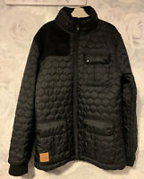 Boys Age 13-15 Years - Sonetti Black Quilted Coat - With Hood