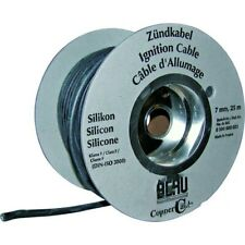 Motorrad Zündkabel SILIKON 7.0 schwarz silicone ht lead 7.0mm black cable cord