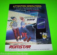 TOURNAMENT ARKANOID By ROMSTAR ORIG NOS VIDEO ARCADE GAME PROMO FLYER BROCHURE