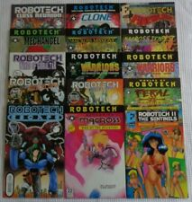 Robotech Macross Lot of 15 Comics Academy Antarctic Eternity