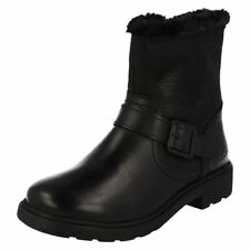 Clarks Buckle Boots for Girls