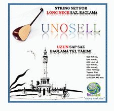 UNOS: STRING SET FOR TURKISH STRING INSTRUMENT LONG NECK SAZ  0.20MM