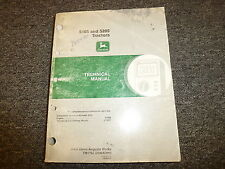 John Deere Model 5105 & 5205 Tractor Shop Service Repair Technical Manual TM1792