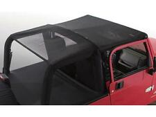Smittybilt Extended Mesh Top w/ Windshield Channel for 97-06 TJ Jeep Wrangler