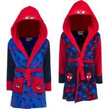 Marvel Spider-Man Kinder Bade-Mantel Morgenmantel mit Kapuze