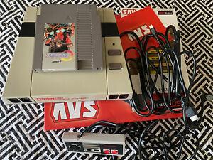 RetroUSB AVS FPGA HDMI Console + Contra Play NES Nintendo Famicom in HD 720P