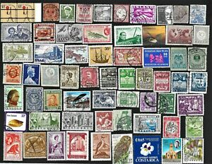 Worldwide Used/Mint Stamps & Pictorials FREE Shipping U. S. yy
