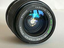 YASHICA Obiettivo attacco Yashica/Contax 35-70 mm F3,5-4,5 Manual Zoom Nero