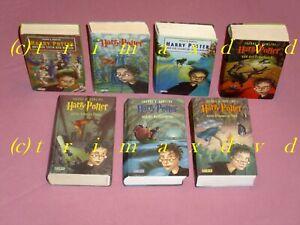 Harry Potter 1-7 _ Die komplette gebundene Büchersammlung ! _ B-Ware